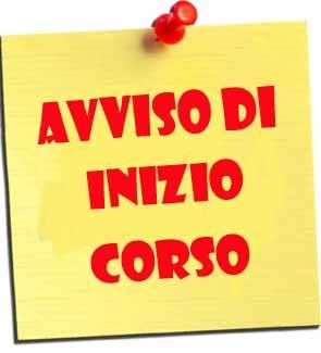 INIZIO CORSI ANNO 2016/2017